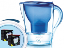 Brita Marella cool modrá 2,4l + 12 ks filtrov Logic