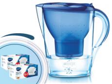 Brita Marella cool modrá 2,4l + 12 filtrov Maxtra