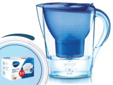 Brita Marella cool modrá 2,4l + 4 filtre Maxtra
