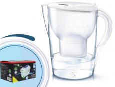 Brita Marella XL memo biela 3,5l + 4 filtre Logic
