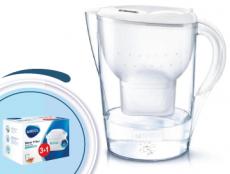 Brita Marella XL memo biela 3,5l + 4 filtre Maxtra